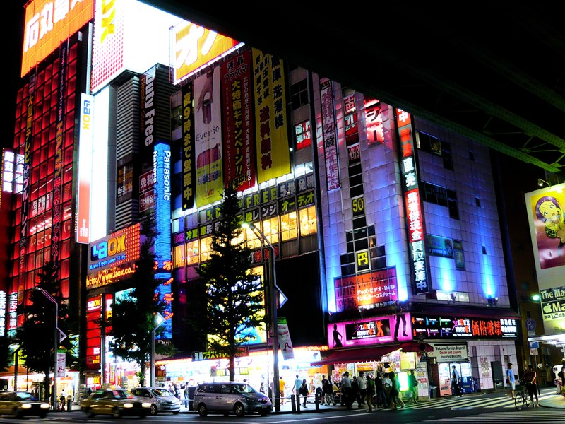akihabara_at_night