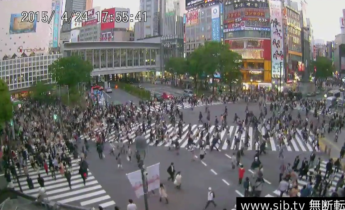 Shibuya scramble crossing_webcam