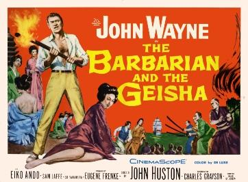 Barbarian and the Geisha poster