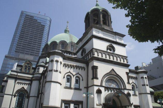 Cathedral church of the Resurrection of Christ in Tokyo
