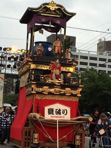 Dashi Matsuri carriage