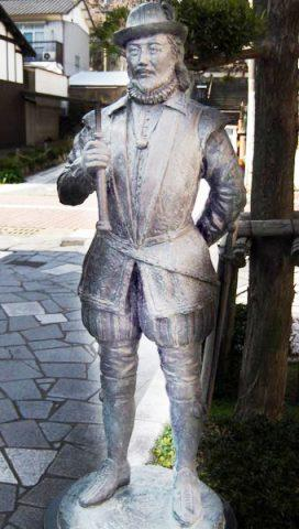 William Adams statue